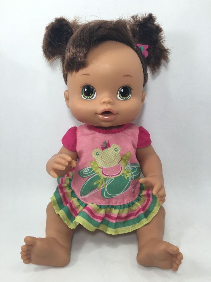 2008 Hasbro Baby Alive Hispanic Baby Doll 13 Quot Green Eyes