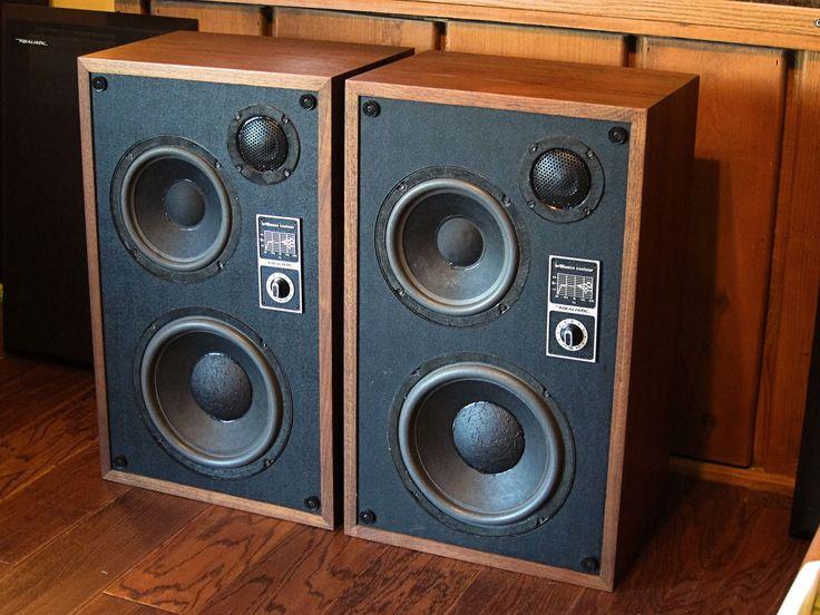 1978 Realistic Optimus 10 Speaker System Speakers