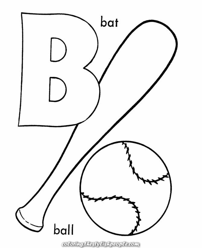 Exceptional Printable Alphabet Letter To Paint Abc Coloring Pages Alphabet Coloring Pages Letter B Coloring Pages