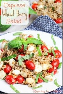 Wheat Berry is a high protein, low fat and totally delicious grain! Try it in my Caprese Wheat Berry Salad. Hello friends! I've started pursuing new grains. You guys know I love quinoa and all, (…