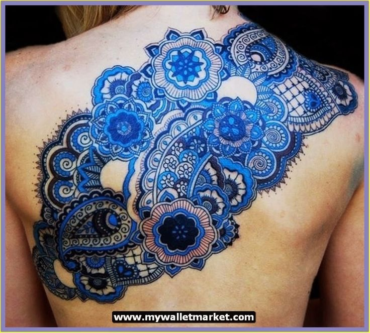 intricate tattoos women