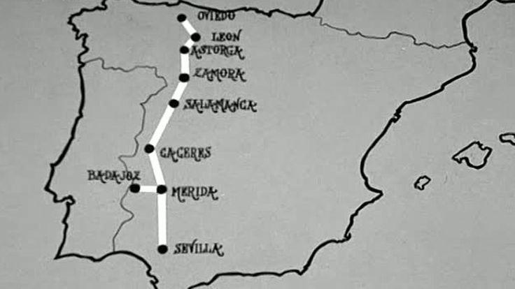 Conozca usted España - La ruta de la plata (1980) - Pío Caro Baroja