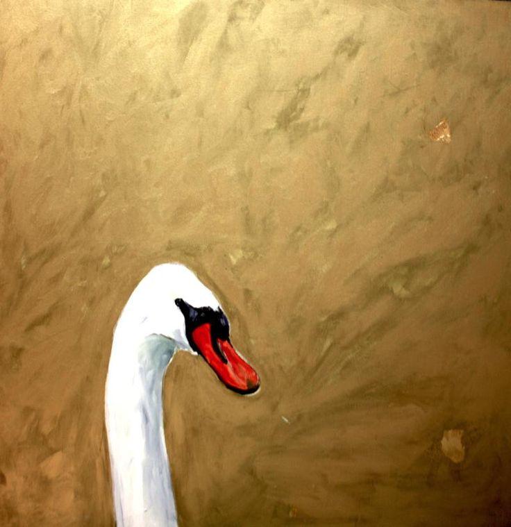 Painting: Golden Swan of Marco Veg Ferra