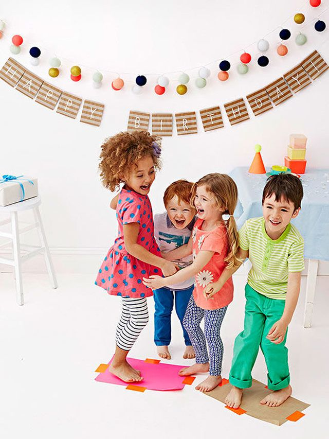 6 Fun Children's Party Games that Need Little to No Preparation. ~These aren't your old and worn out party games either! No Musical Chairs or Newspaper Dance.