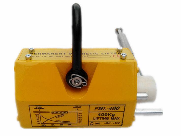 400 KG Baja Magnetic Pengangkat Tugas berat Derek Hoist Lifting Magnet