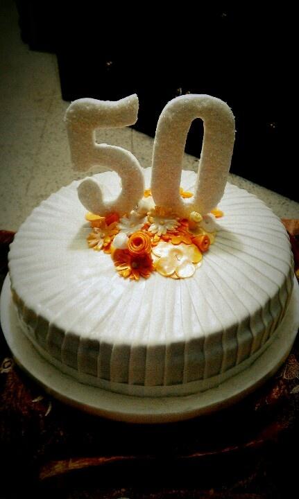 Torta de 50 años