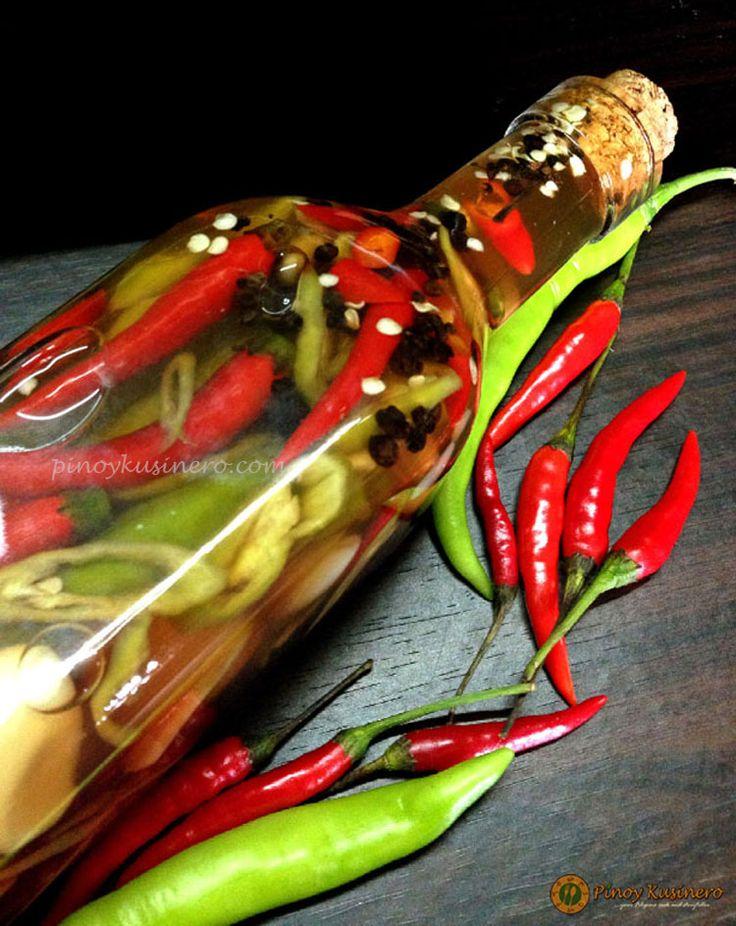 Sukang Maanghang (Highly-spiced Filipino Native Vinegar) | Pinoy Kusinero
