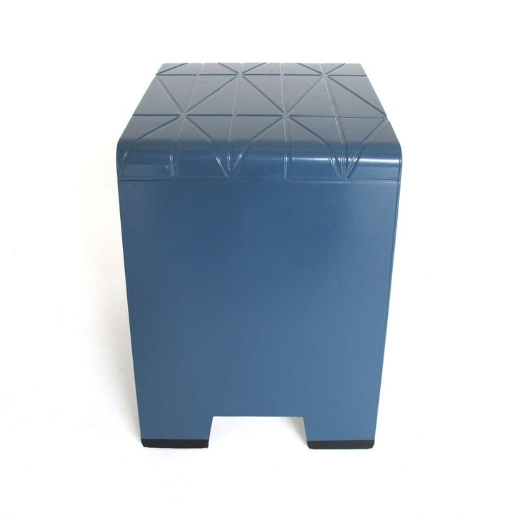 Imprint Stool Blue
