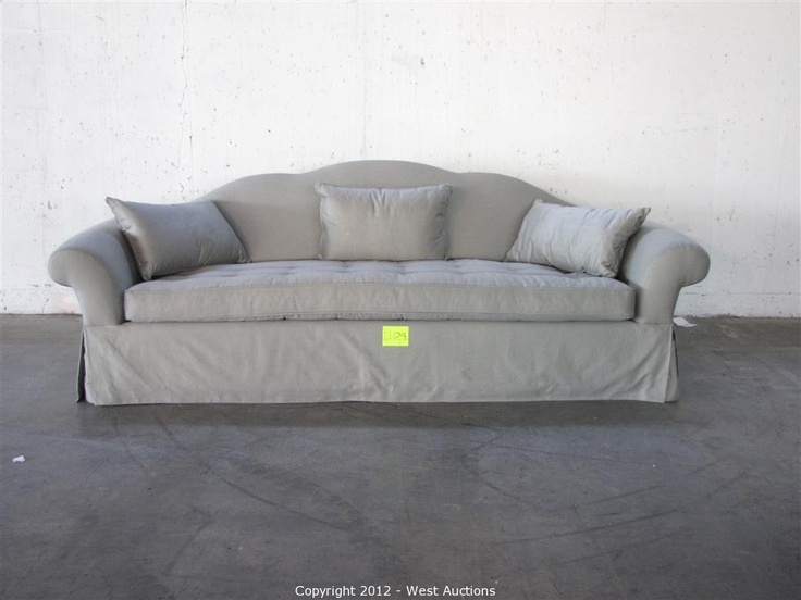 This Item, Summer Hill Single Cushion Sofa, Is Part Of The Online Auction:  Summer Hill Bankruptcy Liquidation   Auction