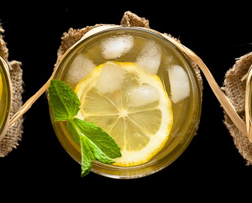 A wonderfully refreshing summer drink that can be served both virgin, and with a slight kick.