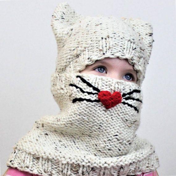 Knitting pattern Patron tricot PDF Cody CAT SET/ Set