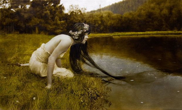 .Artists, Illustrationart, Private Collection, Silver, Illustration Art, Leaves, Painting, Brad Kunkle, Oil