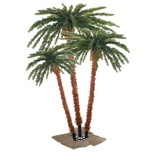 Sterling Inc. Palm Tree Pre-Lit Artificial Christmas Tree