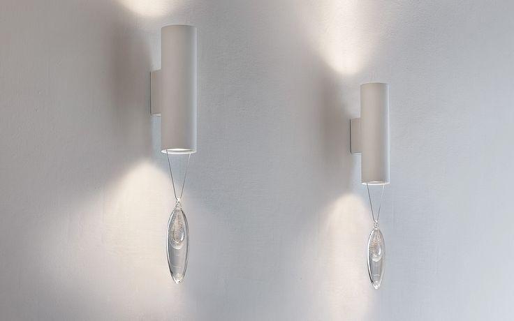 Lampy do salonu Masiero  Anima A2 - Masiero - kinkiet nowoczesny    #salon #living_room #lamp #Abanet_Kraków #Masiero  Anima A2
