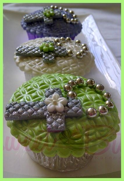 Primera Comunion Cupcakes ~! First Communion Cupcakes ~!