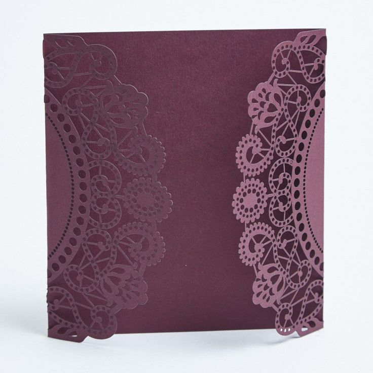 Laser cut wedding invitations. Doily invites. Choose a colour. Card making. in Home, Furniture & DIY, Wedding Supplies, Cards & Invitations | eBay