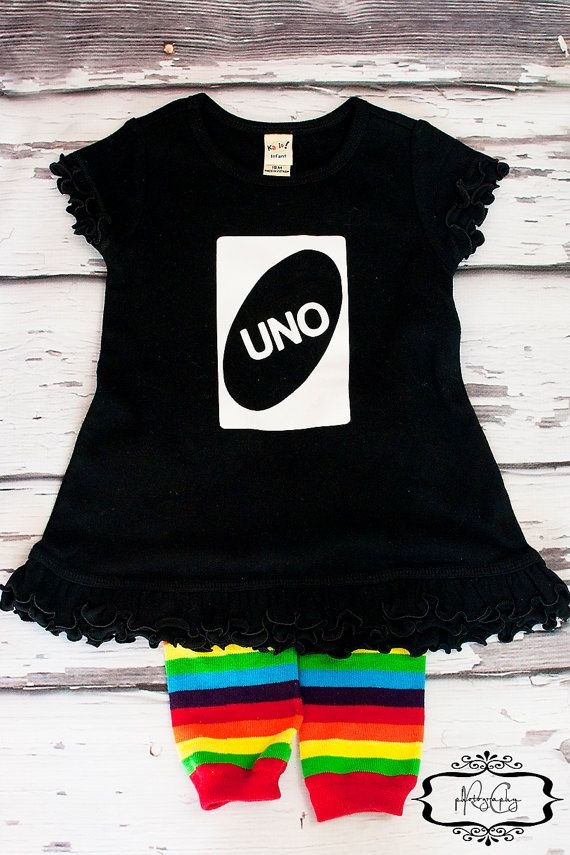 UNO First Birthday Girl Dress  Fun Unique by birthdaycouture, $34.95 - Totally perfect for Ella
