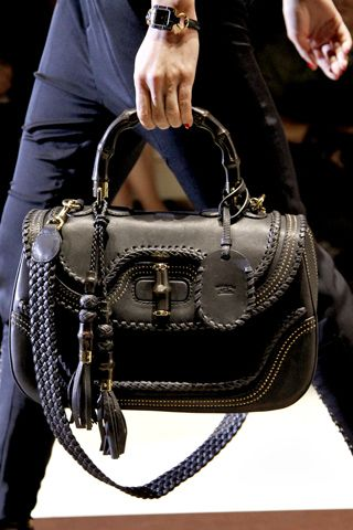 Nothing beats the perfect structured bag. Gucci Spring 2011