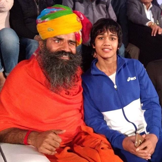 Aashirvad to wrestler Babita Phogat . She and her sisters are role model for all the girls in the country