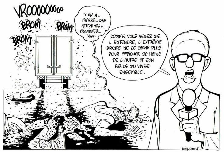 Marsault- Réaction très juste sur l'attentat de Berlin