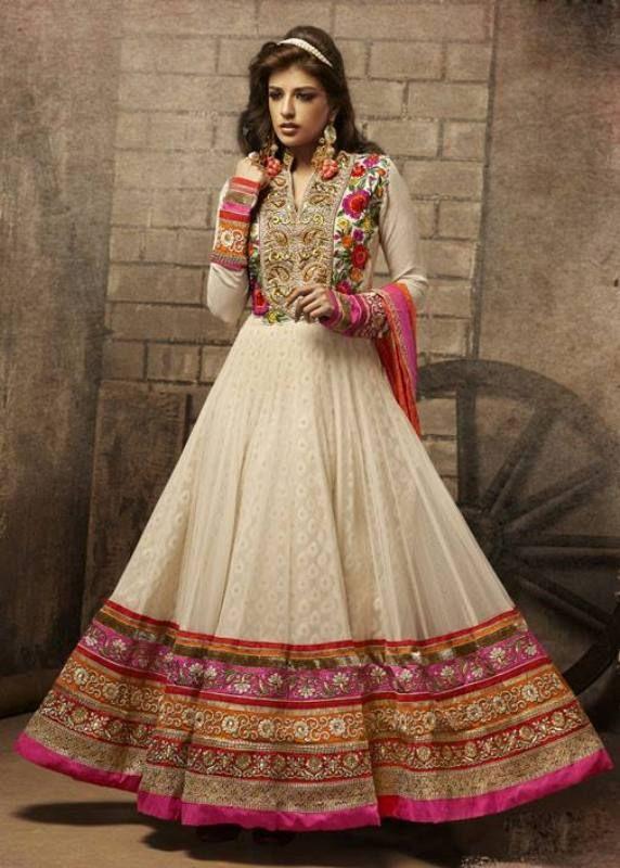 latest indian designer suits 2014