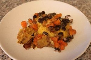 Sweet Potato and Black Bean Mexican Lasagna