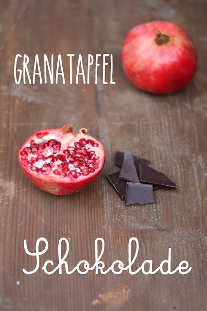 HerzStück - Granatapfel-Schokolade