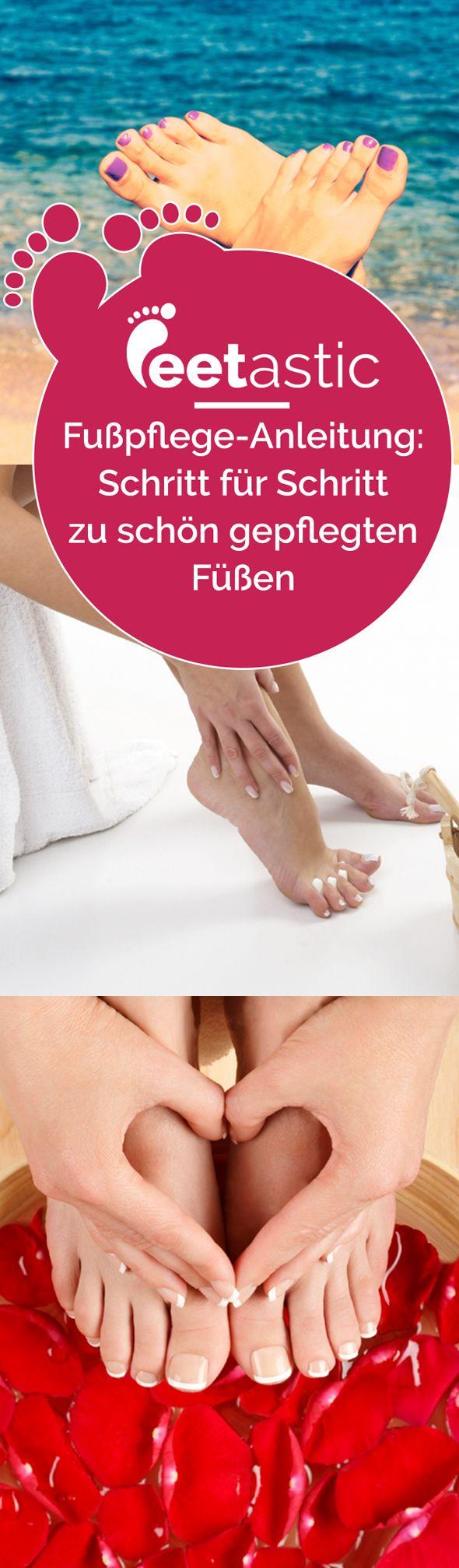 Eine Pediküre selber machen, wie vom Profi? Durchaus möglich. Mit dieser Fußpflege Anleitung gelingt es auch im heimischen Badezimmer. An die Füße, fertig, los: Schritt für Schritt führen wir Sie mit gezielten Fußpflege-Tipps zum perfekten Ergebnis.