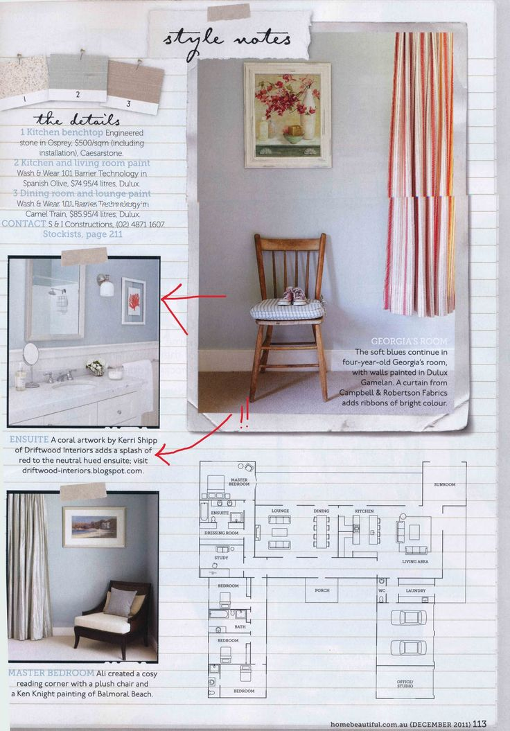 driftwood interiors: Ali's gorgeous home (and my art!) in Australian Home Beautiful
