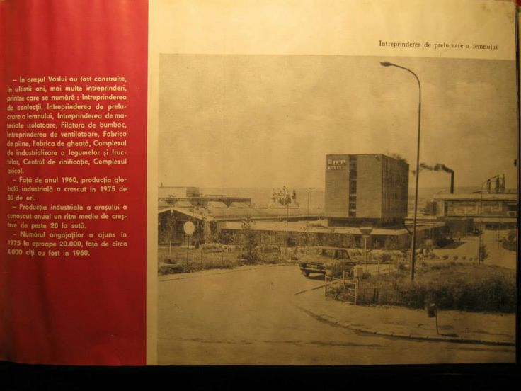 Fabrica de Mobila... unul dintre motivele de mandrie ale vasluienilor in anul 1975...  http://tesalut.ro/vaslui/?kid=3  (photo by Paul Zahariuc)