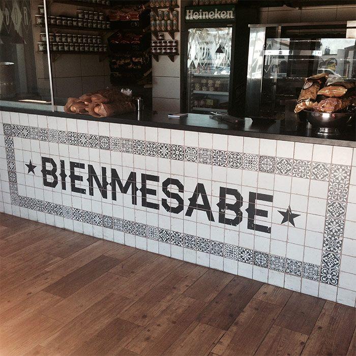 Photo.Comptoir de bar de la rotisserie Bienmesabe