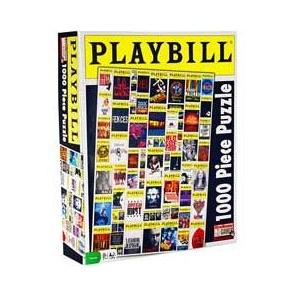 Playbill Puzzle Playbill Showtunes Film Books