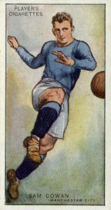 1928 #6 Sam Cowan  Manchester City