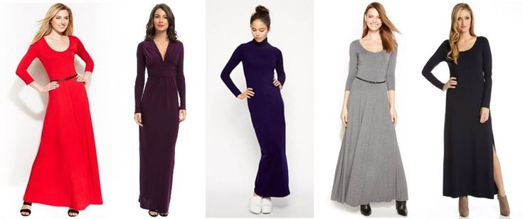 5 Maxi Dresses Perfect To Wear On Christmas Day #holidaydresses