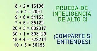 Resolver esta ecuación matemática simple podría significar que eres un genio - Buena Mente
