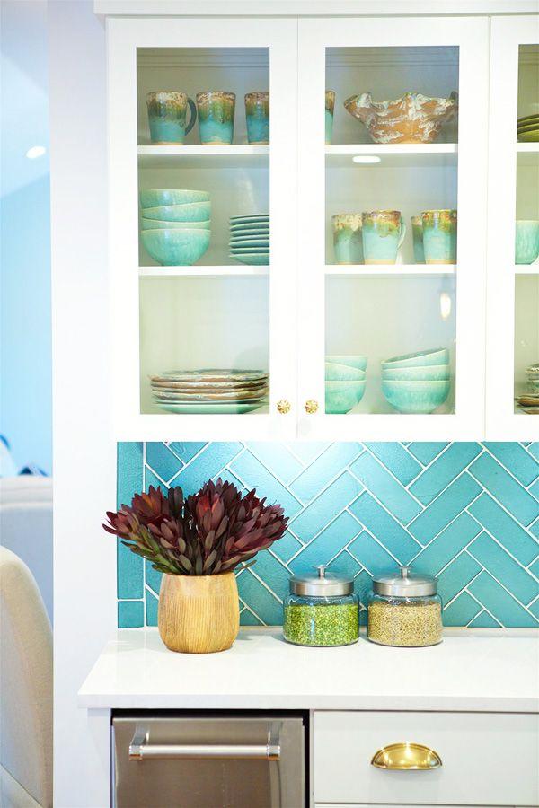 12 Ways To Brighten A Kitchen When It S Starved Of Natural Light Kitchen Decor Modern Teal Kitchen Aqua Kitchen
