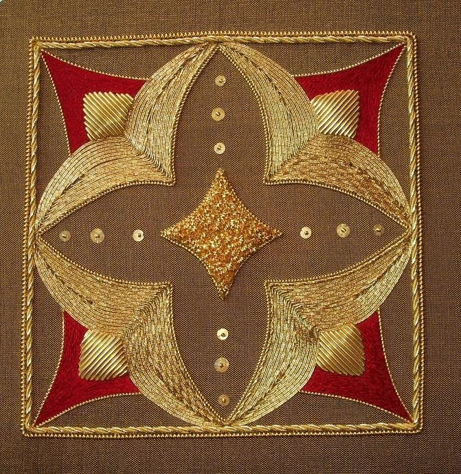 Alison Cole Embroidery--Ruby Jewel