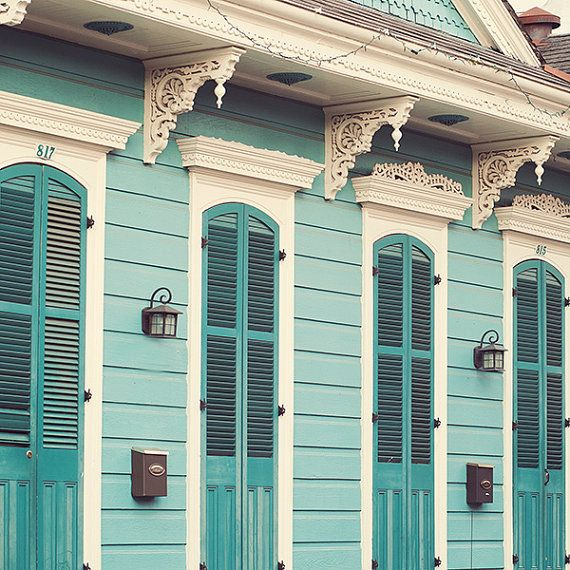 Creole Cottage  New Orleans French Quarter by EyePoetryPhotography, $30.00