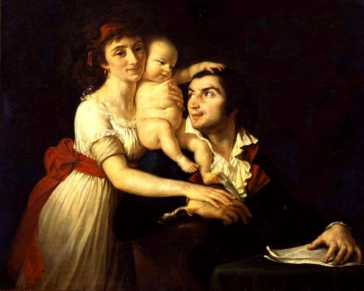Lucille Desmoulins, Horace, Camille Desmoulins.