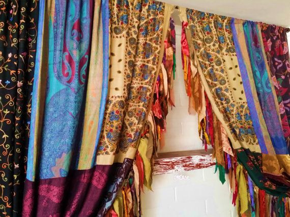 17 Best ideas about Boho Curtains on Pinterest | Bohemian curtains ...