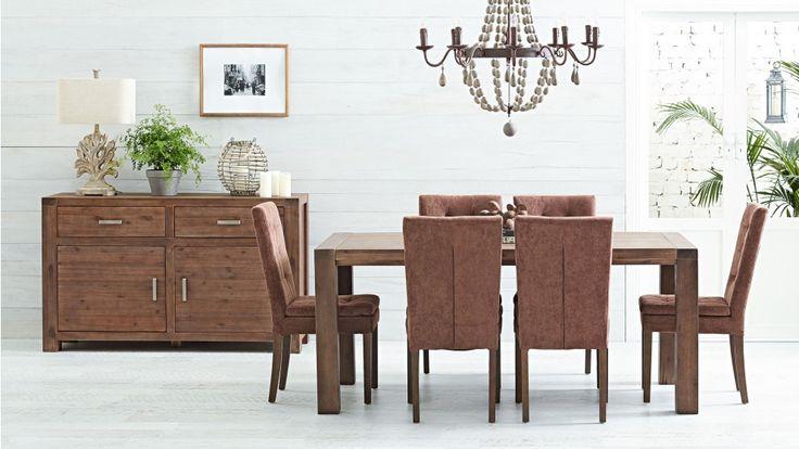 Fraser MK2 7 Piece Dining Setting - Dining Furniture - Dining Room - Furniture, Outdoor & BBQs   Harvey Norman Australia