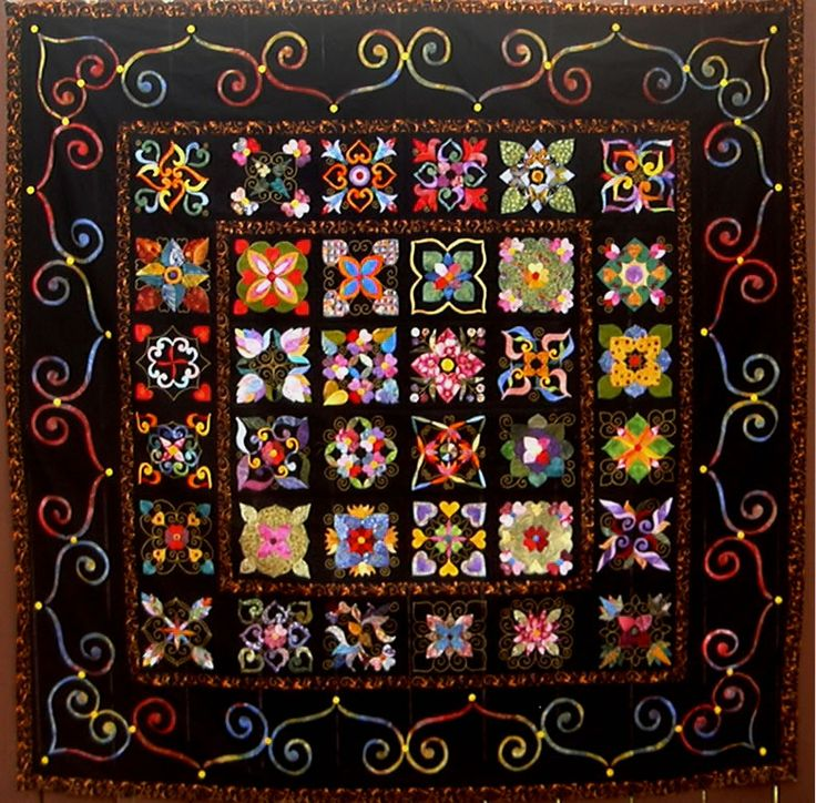Affairs of the Heart quiltHeart Quilt