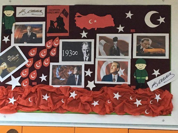 Öğrencimin 18 Mart  ile ilgili panosu