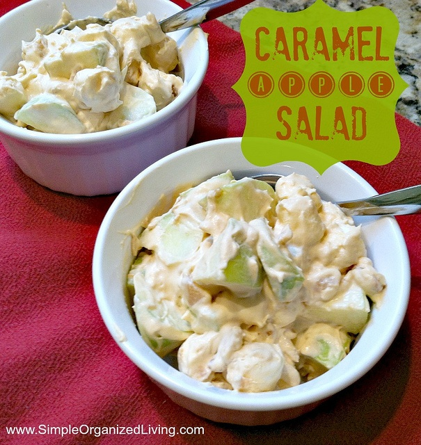 caramel apple salad - a girl at work made this and it is amazing!