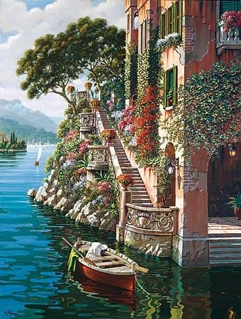 Would like to spend our 25th Wedding Anniversary  Lake Como Villa, Italy