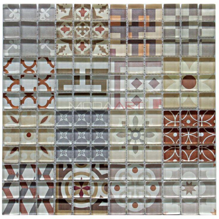 Casual 30 Modaarts Mosaic  Kristal Cam Mozaikler