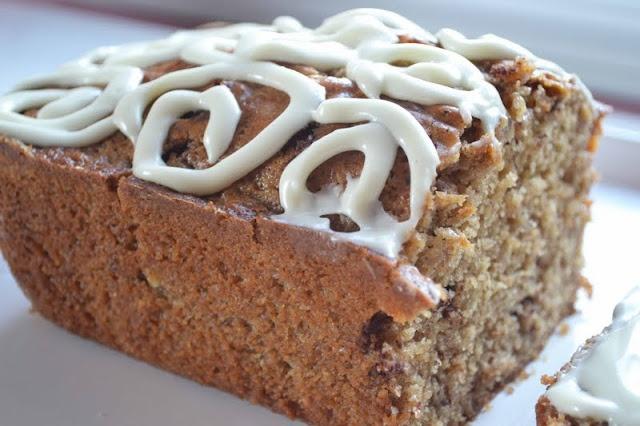 Maple Cinnamon Bun Quick Bread | Quick breads | Pinterest