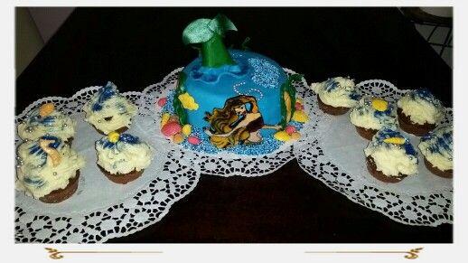 Geburtstagstorte - Meerjungfrau