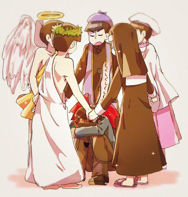 Osomatsu-san The Matsu #Anime「♡」Religion