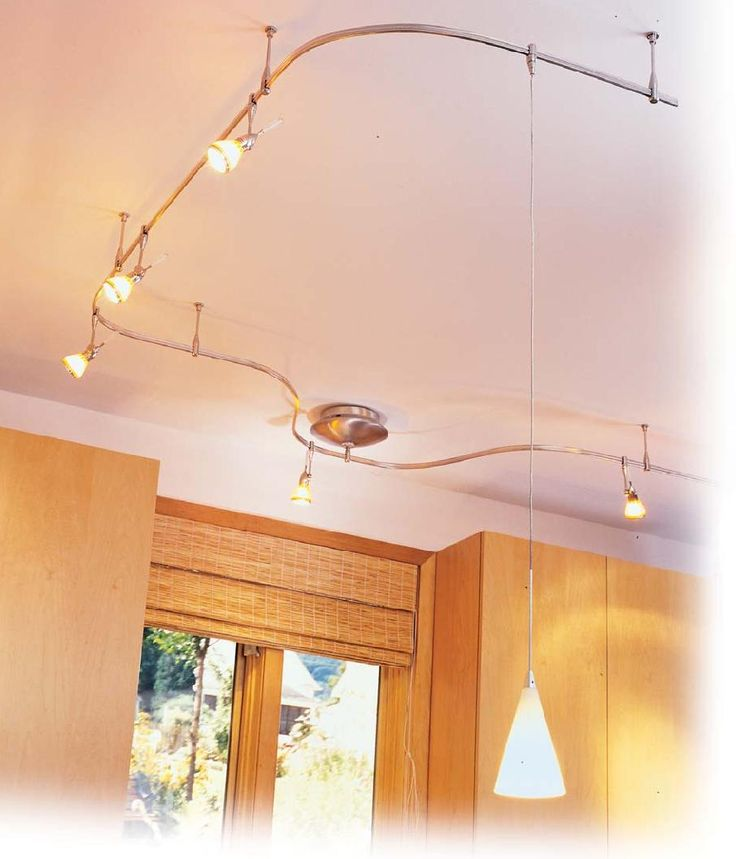 Kitchen Track Lighting Fixtures: Kitchen Renovation Expert Suggests Using Flexible Track